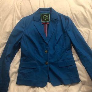 C Wonder Blue Blazer